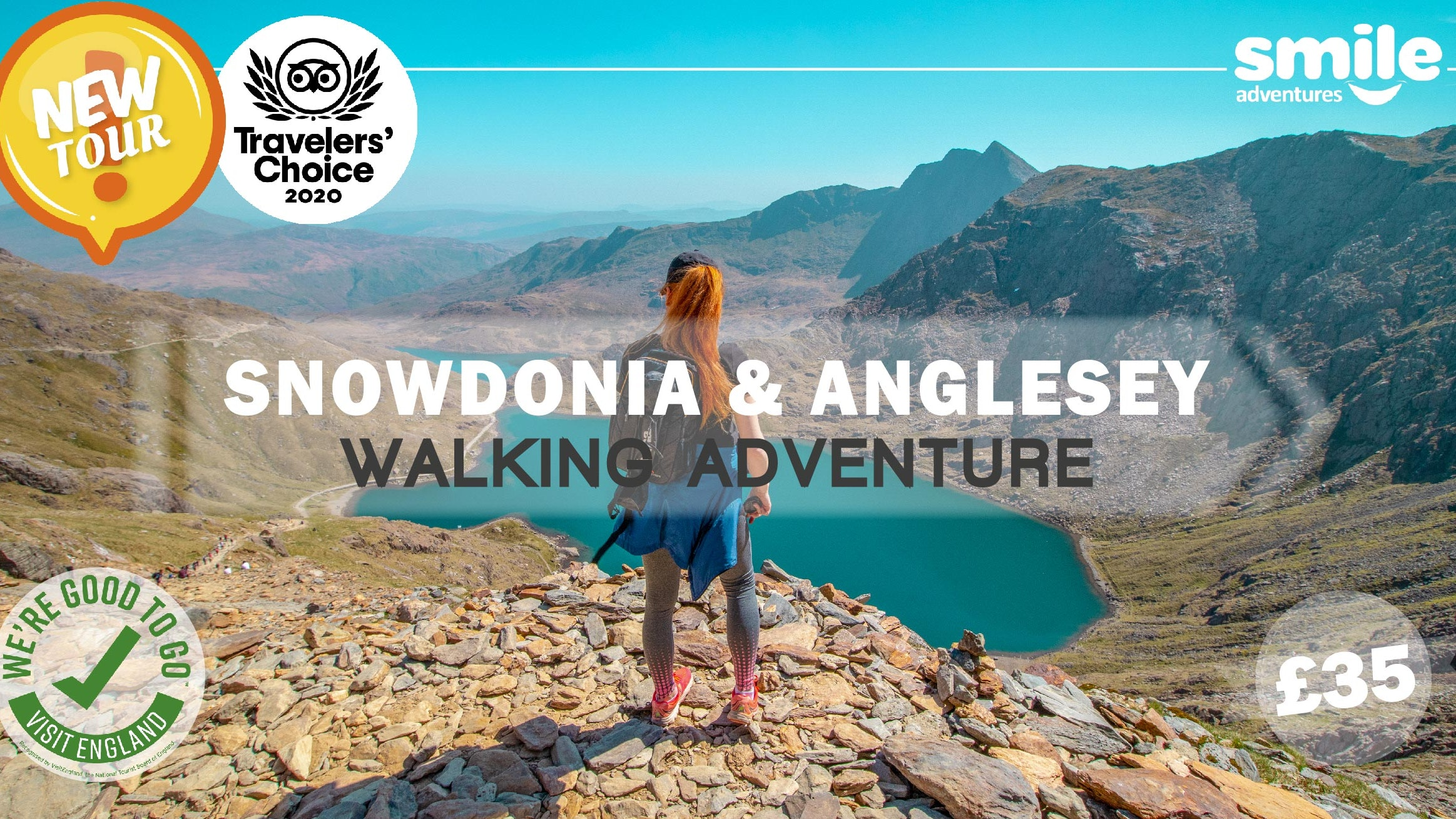 Snowdonia & Anglesey Walking Adventure – From Manchester