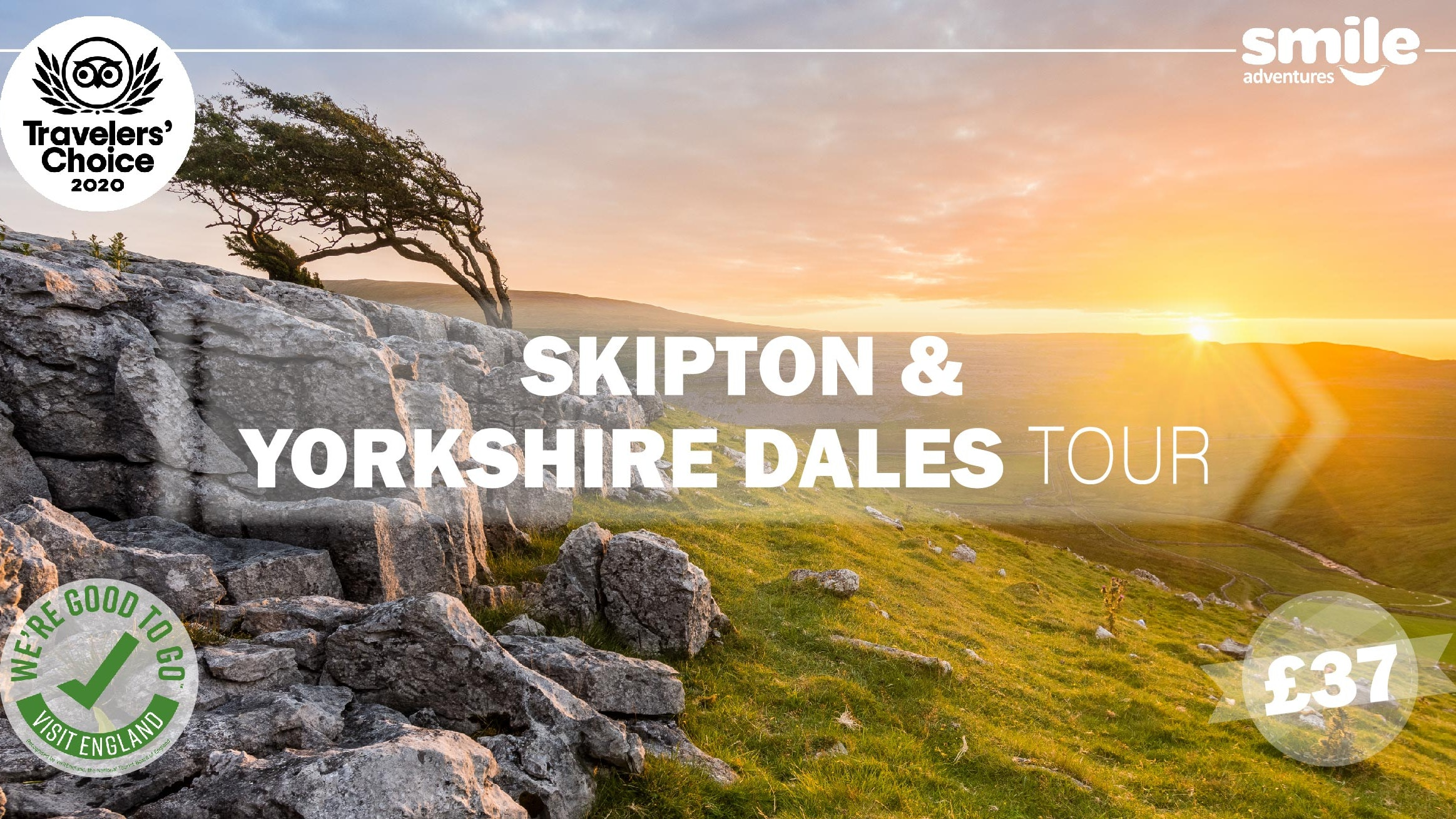 Skipton & Yorkshire Dales Tour – From Manchester