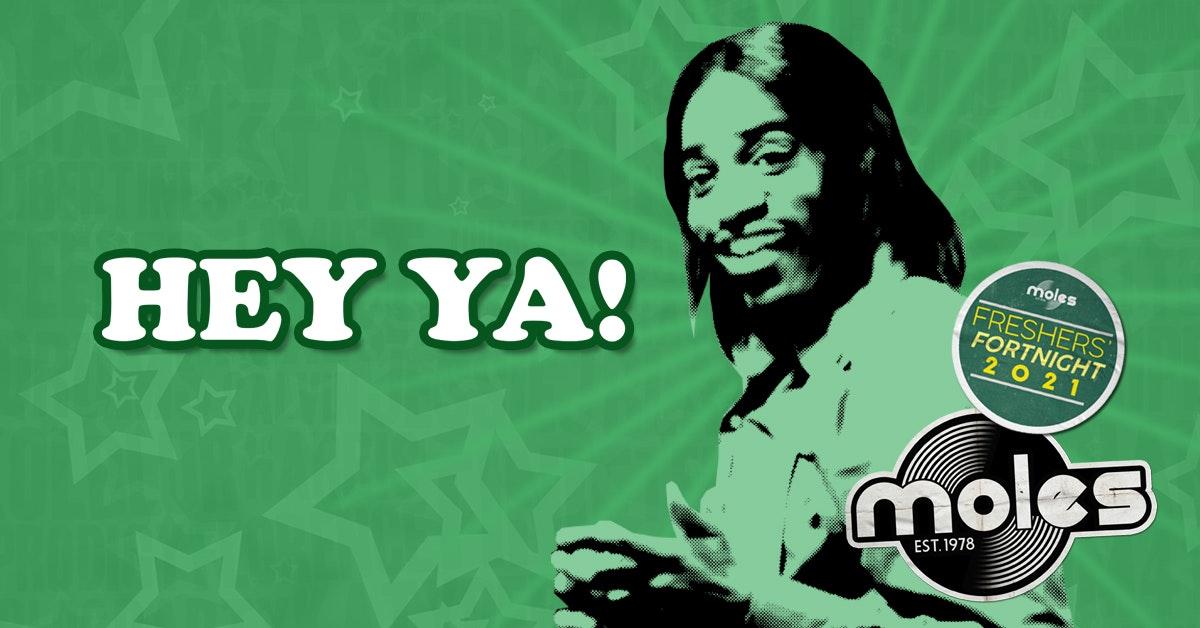 HEY YA! – Party Rockin' 00 Anthems!   Freshers' Fortnight 2021