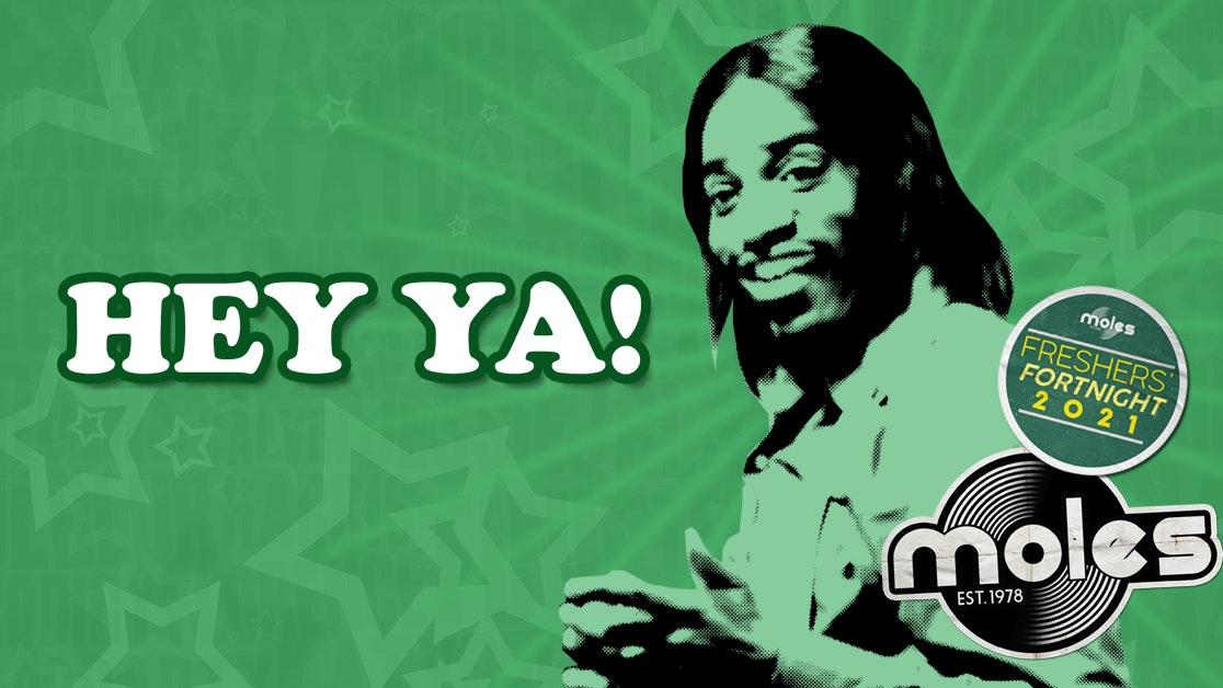 HEY YA! – Party Rockin' 00 Anthems! | Freshers' Fortnight 2021