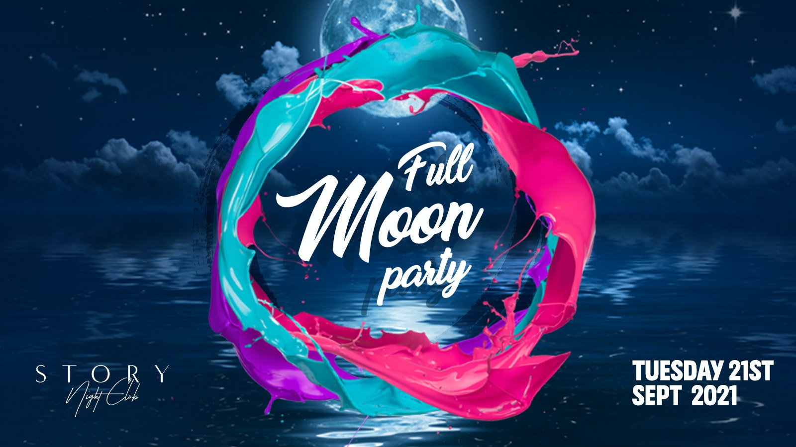 Full Moon Party – The Cardiff Metropolitan Welcome Party | Cardiff Freshers 2021