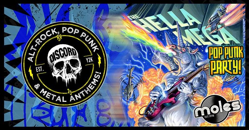 DISCORD –  The Hella Mega Pop Punk Party!