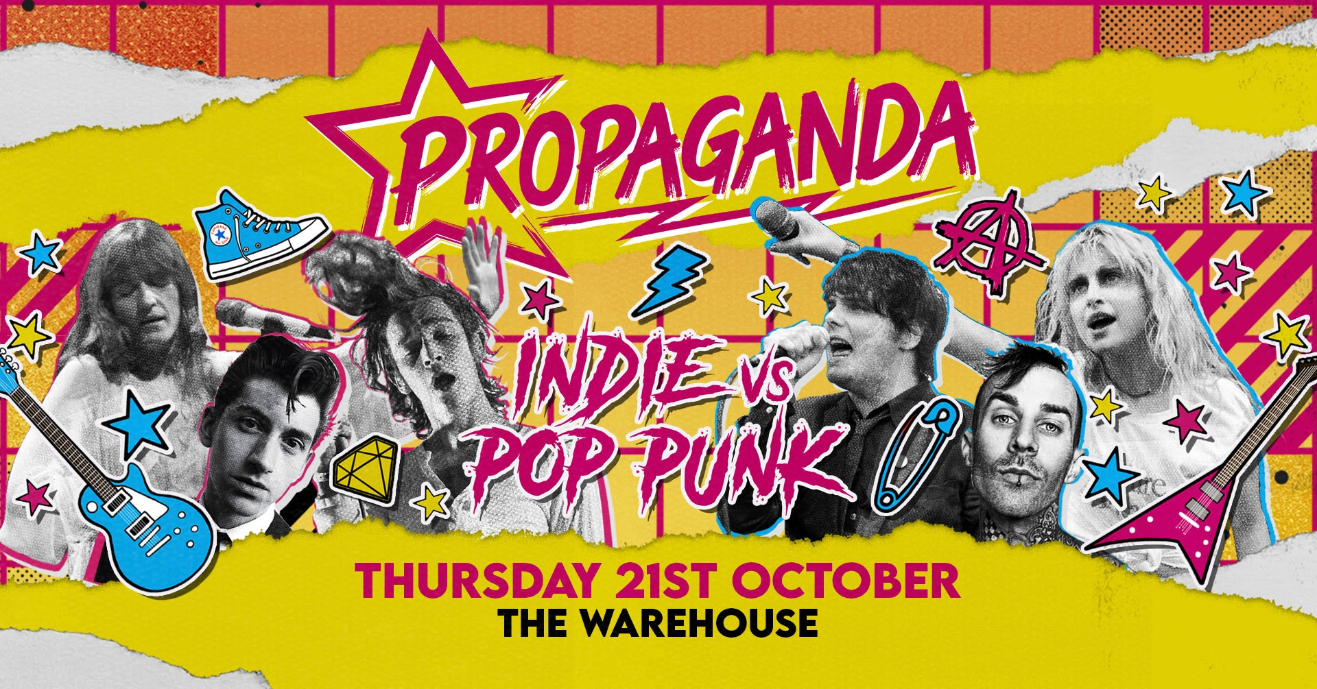 Propaganda Leeds – Indie vs Pop-Punk!