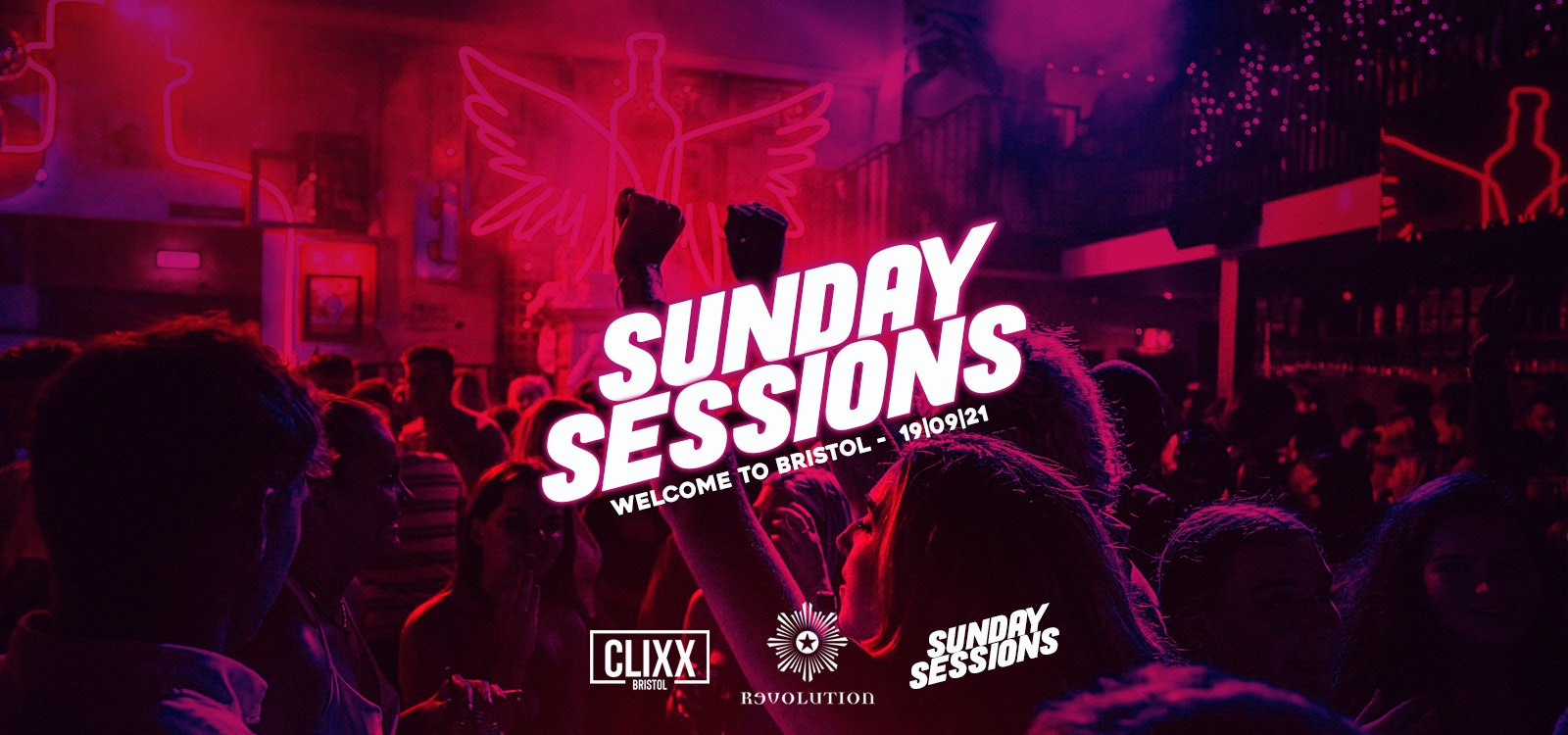 Sunday Sessions || Moving In Party! – FREE Shot with every ticket + £1.50 DRINKS