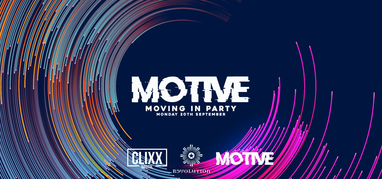 MOTIVE – Moving In Party // Welcome To The City – FREE Shots + Discounted Drinks