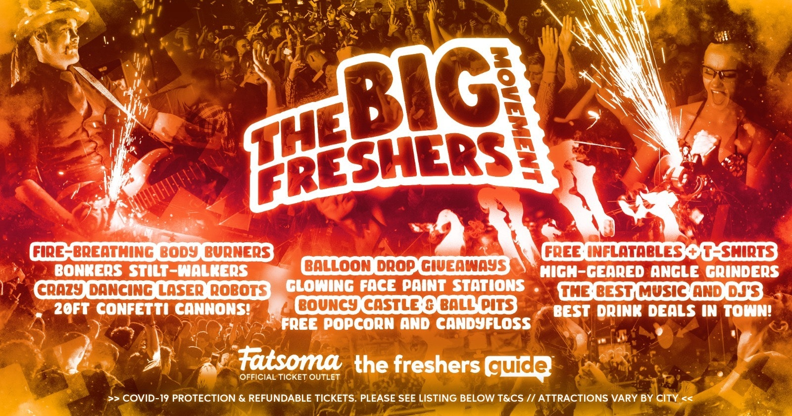 The Big Freshers Movement Swansea 2021 🎉