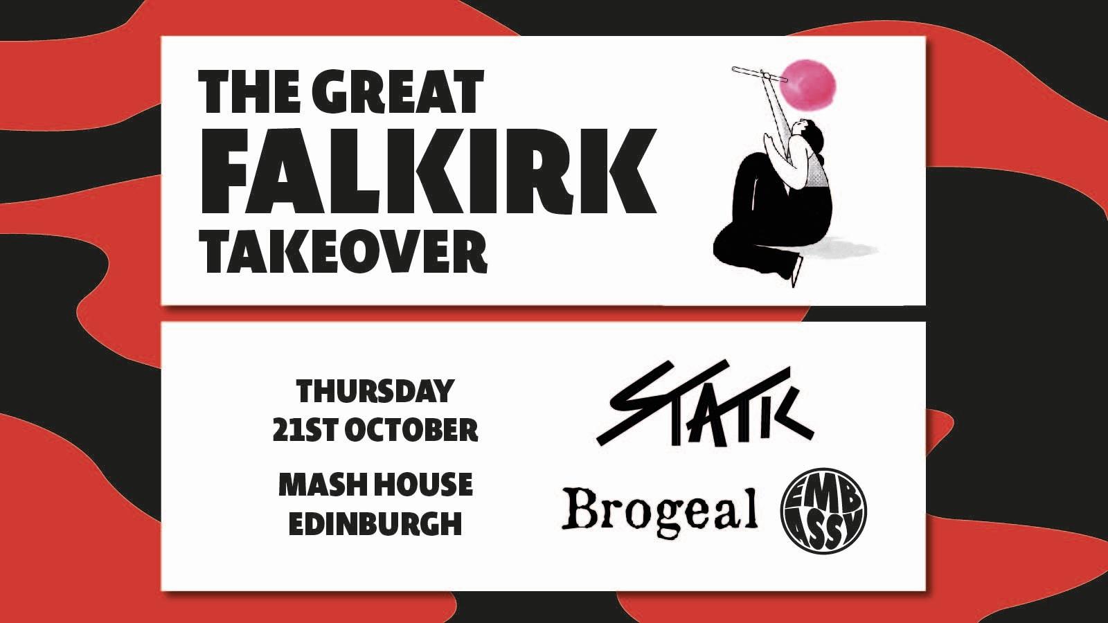 The Great Falkirk Takeover – Edinburgh