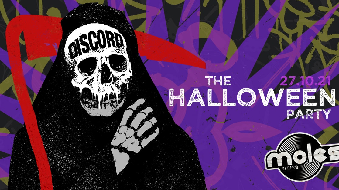 DISCORD –  The Halloween Party 2021!