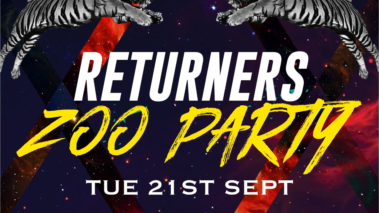Zoo Party – Tuesday 21st September (SOLD OUT)