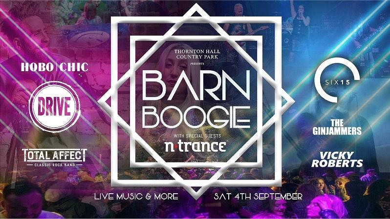 TONIGHT – Barn Boogie – Saturday 4th September 2021