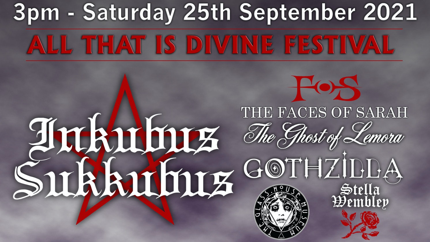 ALL THAT IS DIVINE FESTIVAL – Limites Capacity Event!
