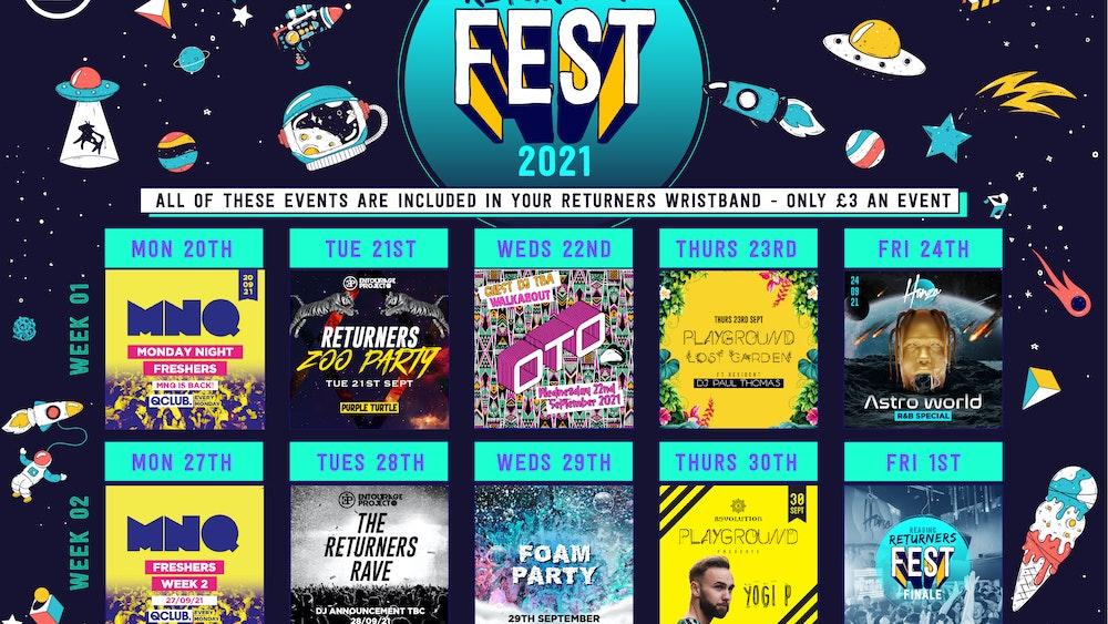 READING RETURNERS FEST 2021 (The Full 2 Week Wristband)