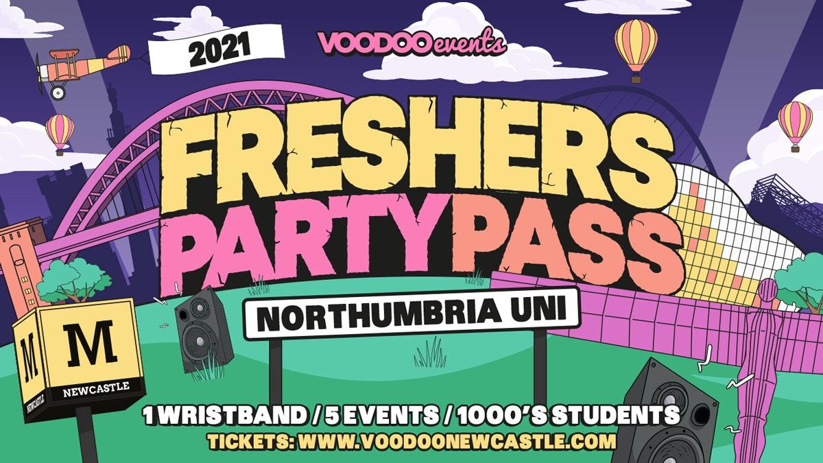 Freshers Party Pass – Northumbria Uni