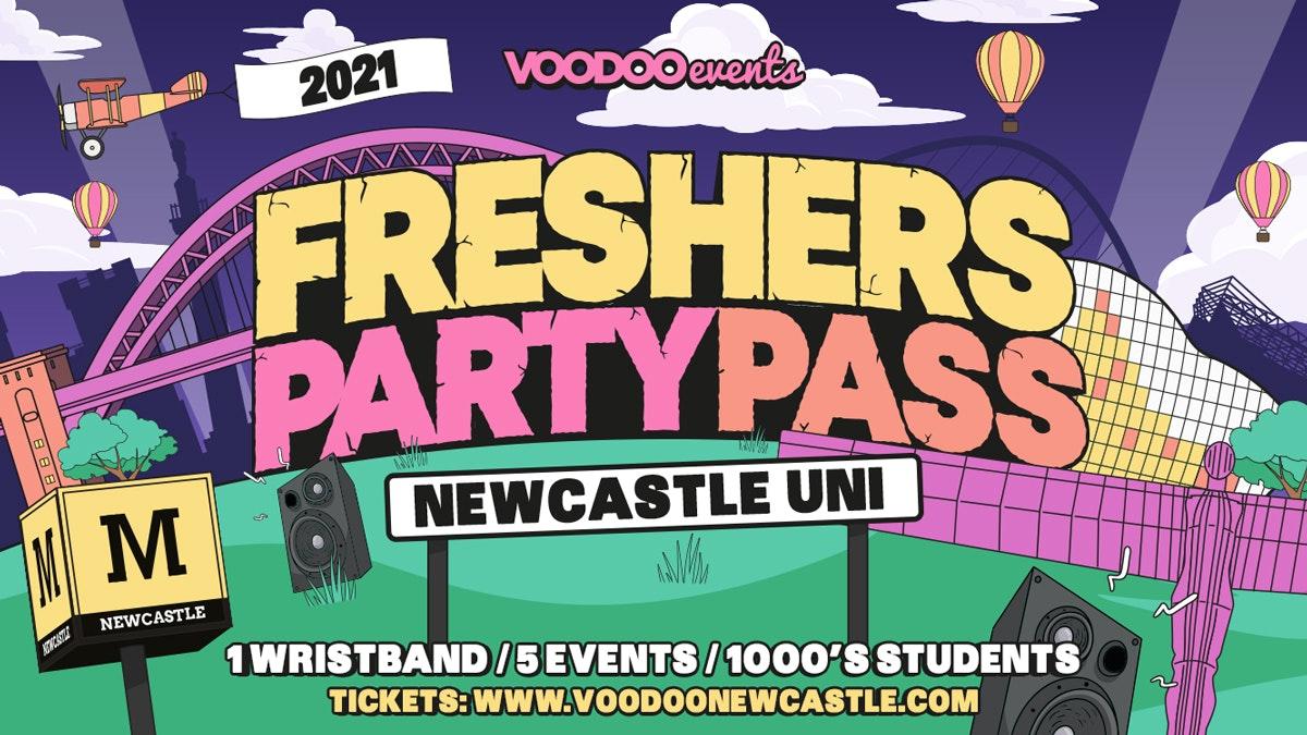 Freshers Party Pass – Newcastle Uni
