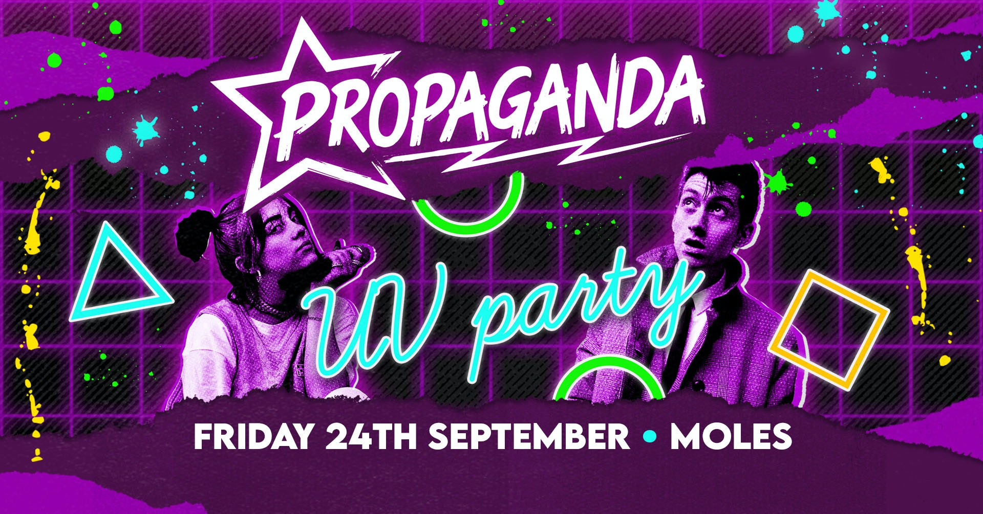 Propaganda Bath – UV Party!