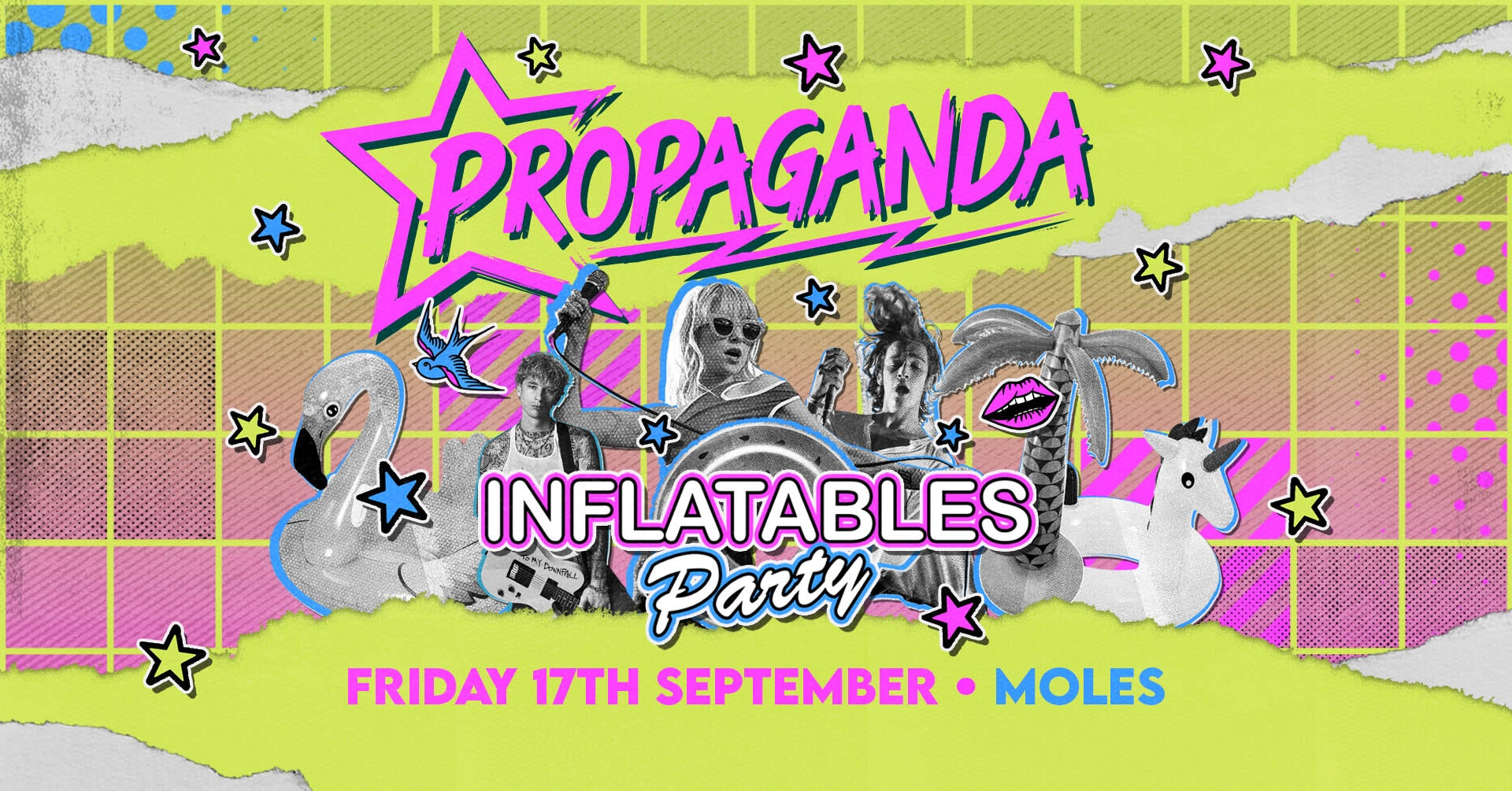 Propaganda Bath – Inflatables Party!
