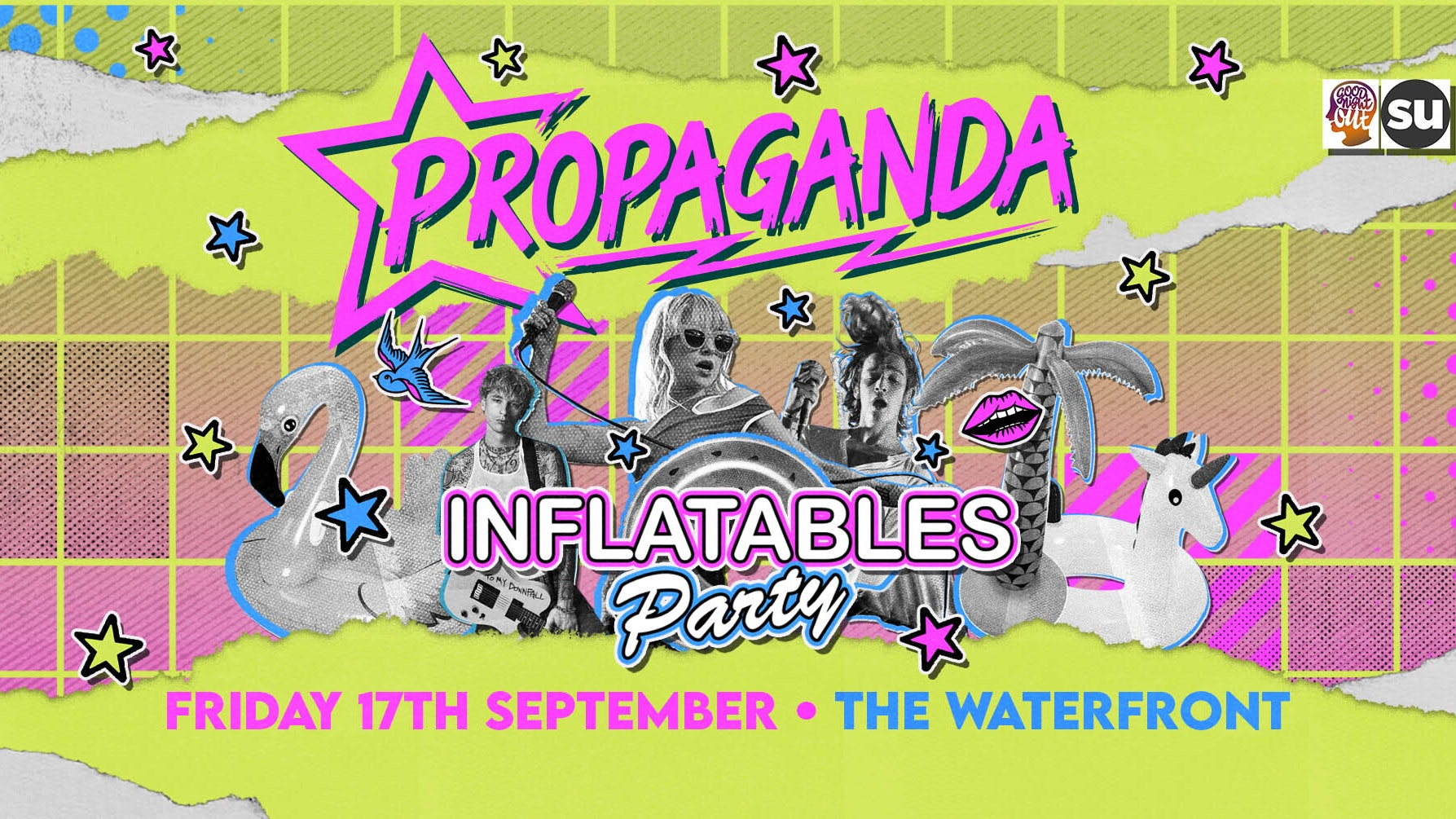 Propaganda Norwich – Inflatables Party!