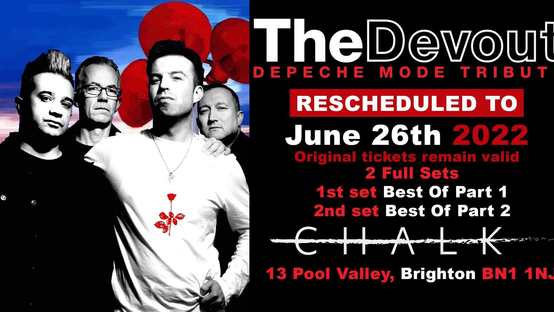 The Devout – Depeche Mode Tribute at The Chalk