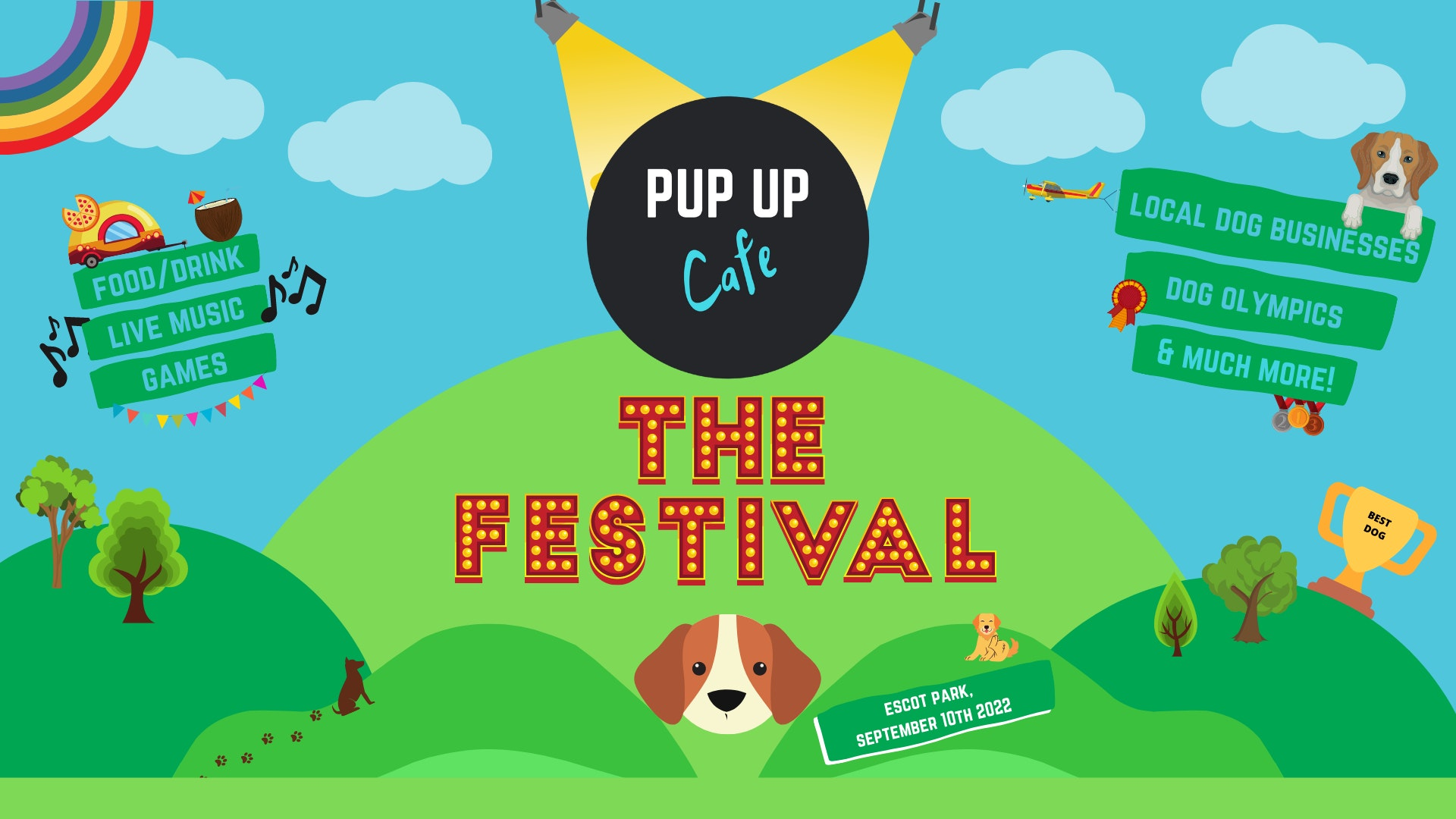 PUP UP CAFE – THE FESTIVAL