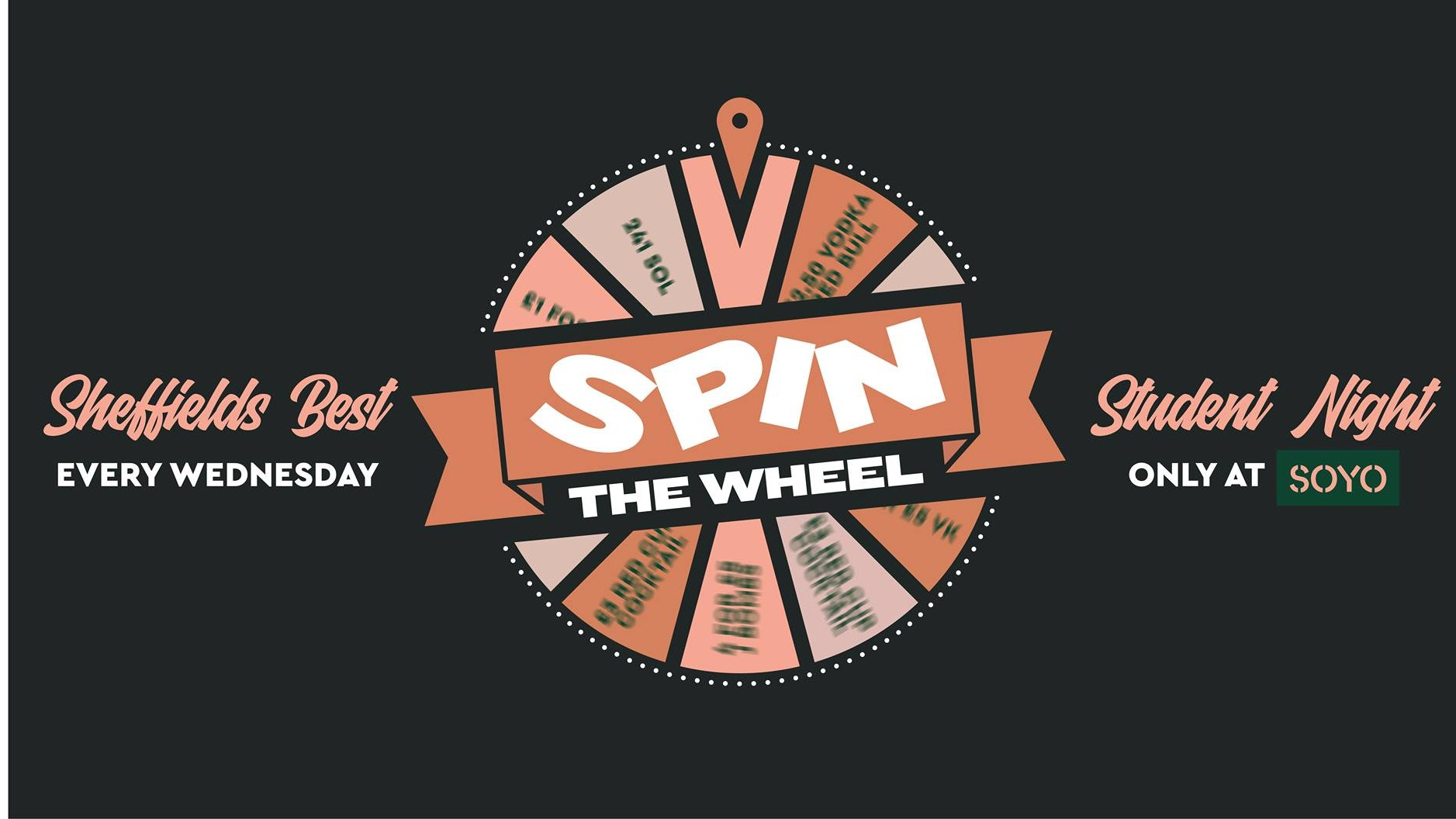 Super Sunday Spin The Wheel Freshers Special