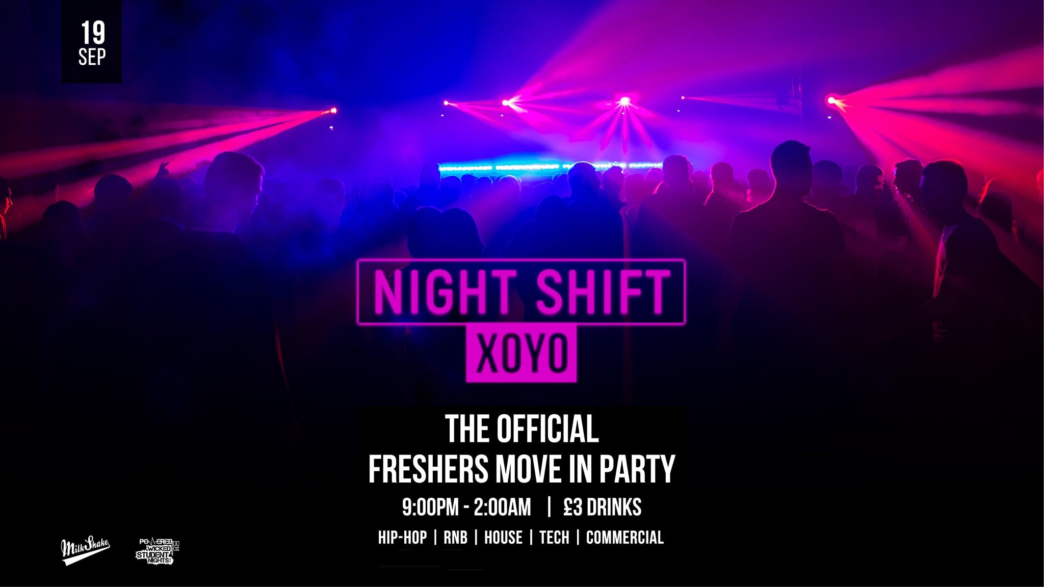 The Night Shift And Official Freshrs Moving In Party💥 | Live From XOYO London