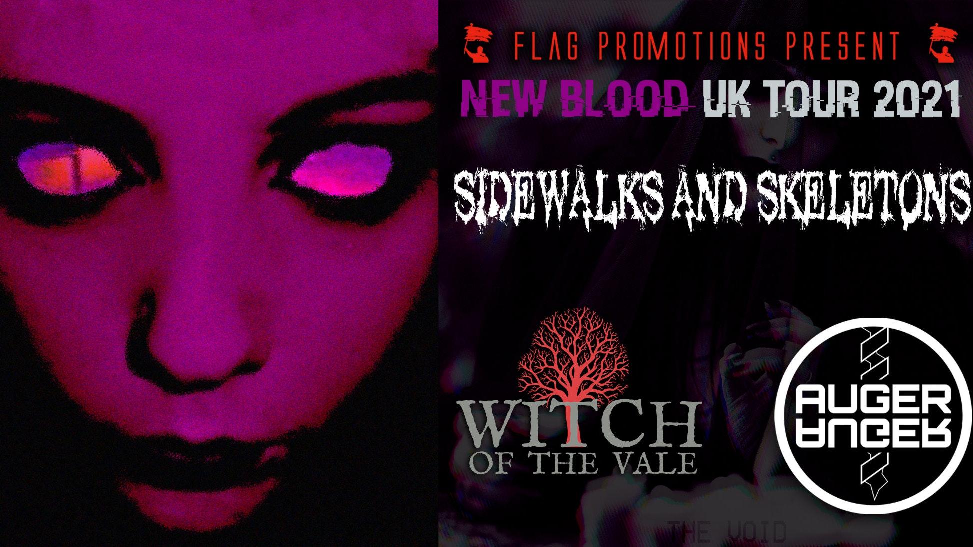 NEW BLOOD UK TOUR 2021
