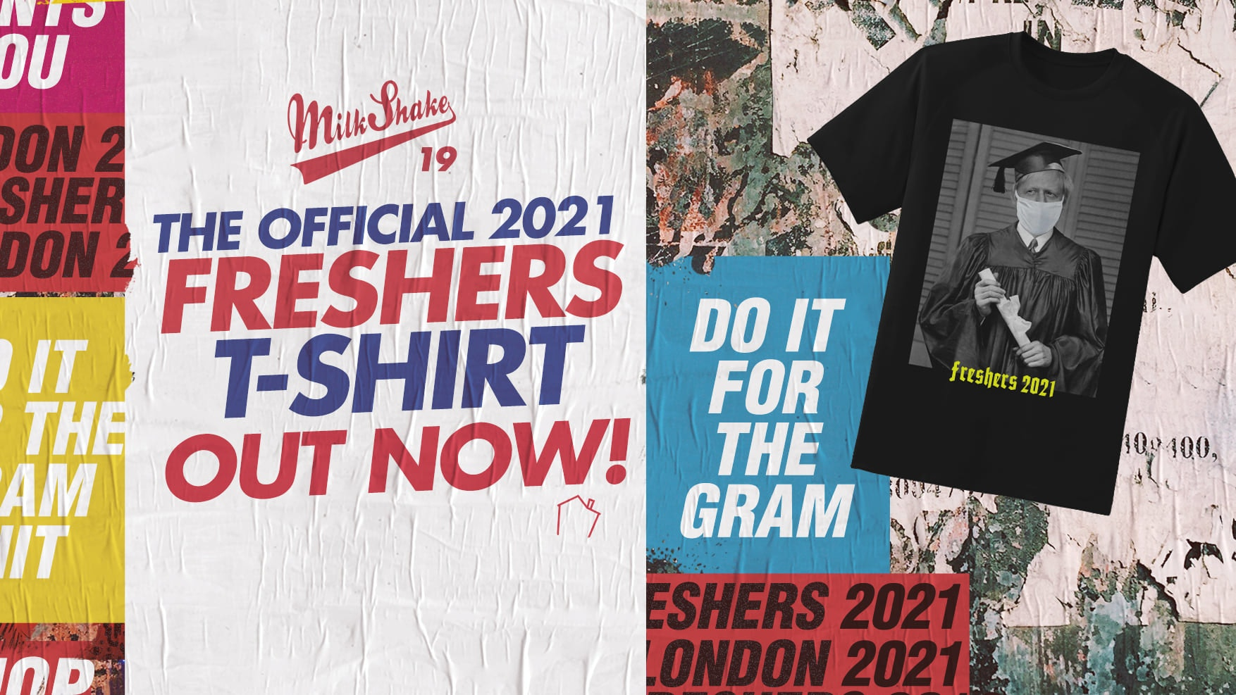 The London Freshers T-Shirt 2021 – Purchase Yours Now!