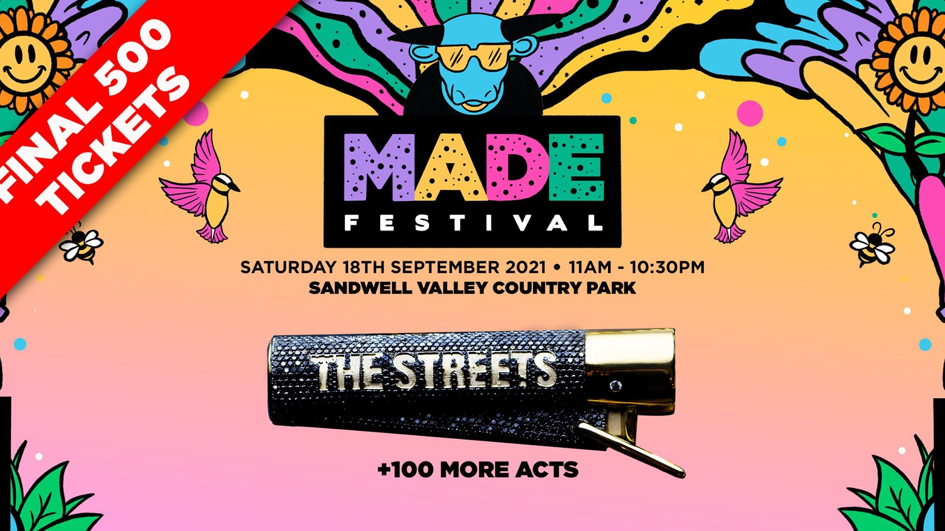 MADE Festival 2021 : Final 500 Tickets
