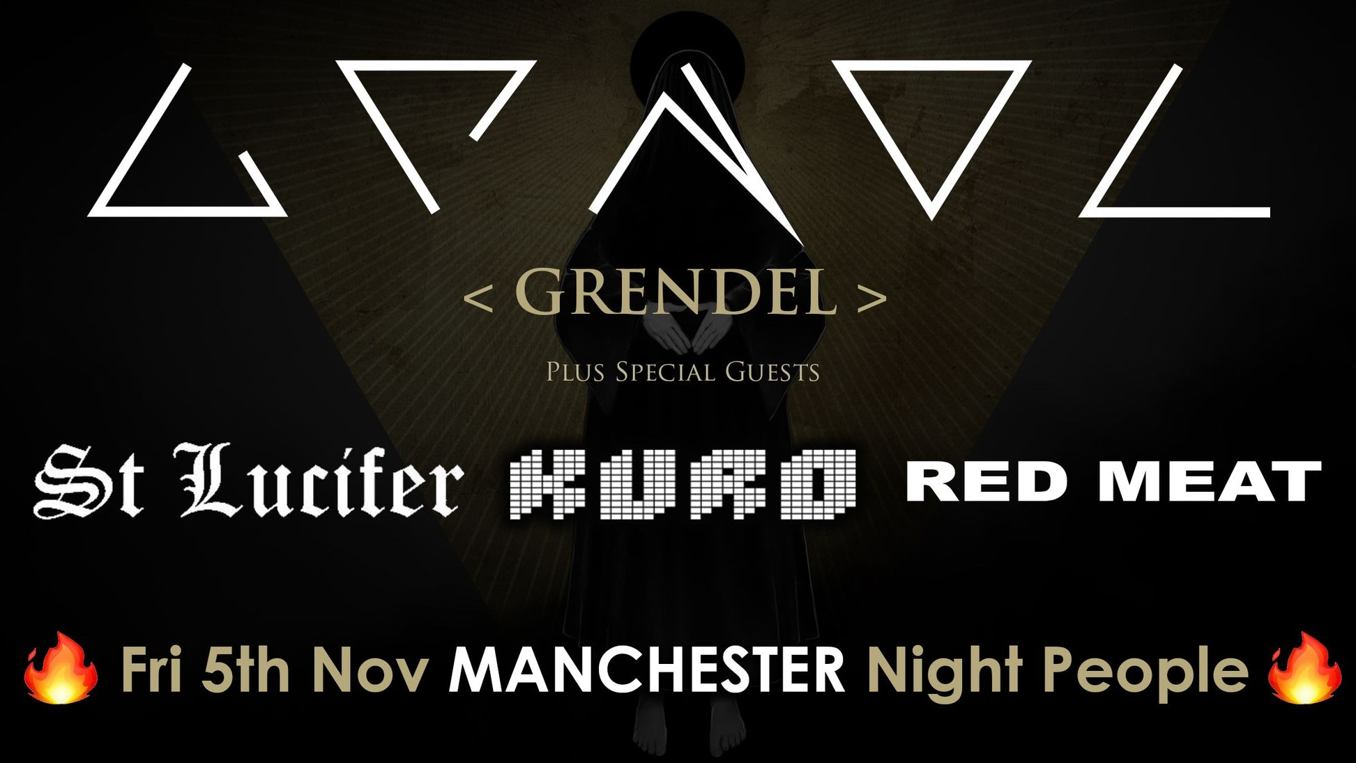 GRENDEL + Kuro  & St Lucifer and Red Meat