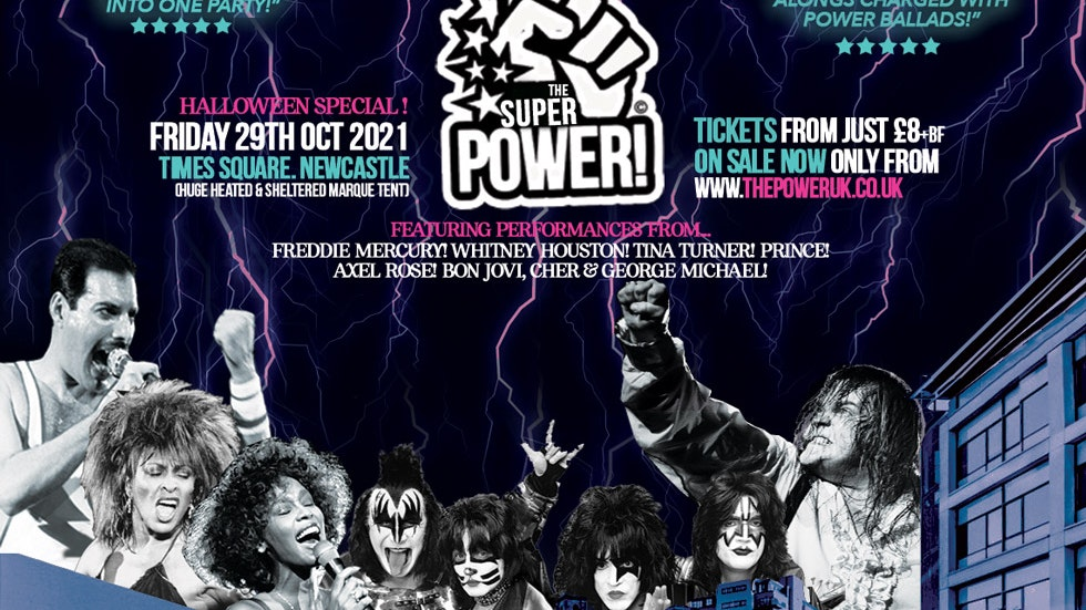 THE 'Super' POWER! (Halloween Special) – Times Square Newcastle