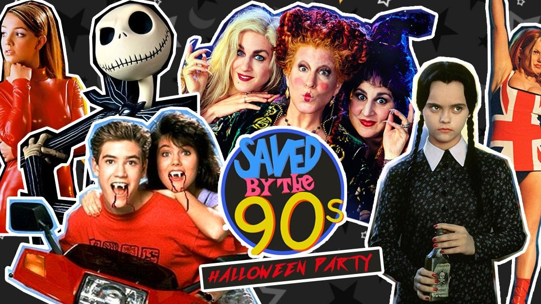 Saved By The 90s Halloween Party