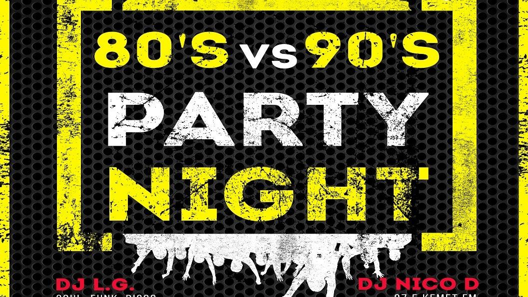 80's vs 90's Party