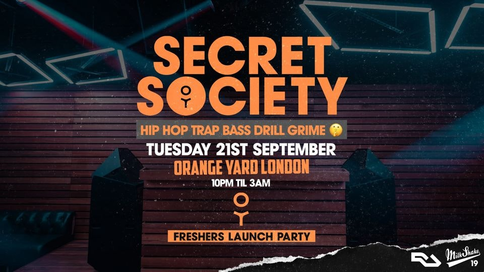Secret Society – The 2021 Freshers Launch
