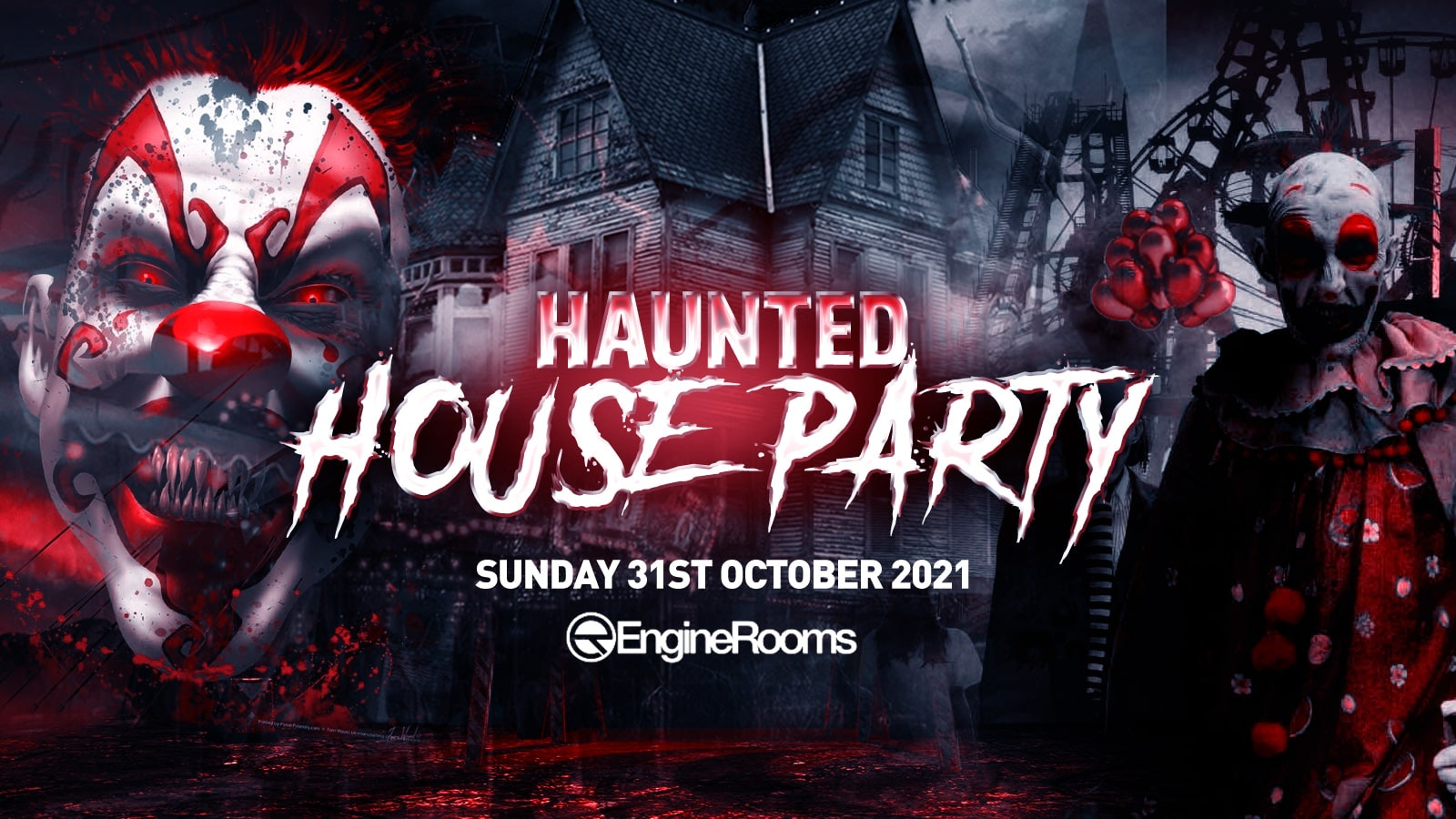 The Haunted House Party | Southampton Halloween 2021 – £5 Tickets SOLD OUT!