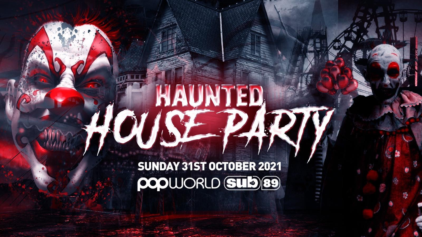 The Haunted House Party | Reading Halloween 2021 – First 100 Tickets ONLY £3!