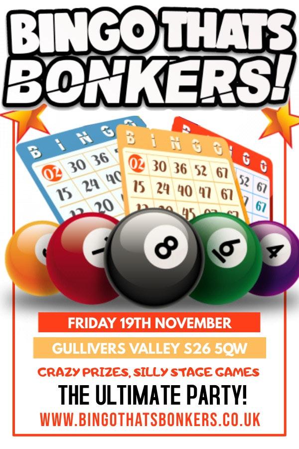 Bingo Thats Bonkers Gullivers Valley