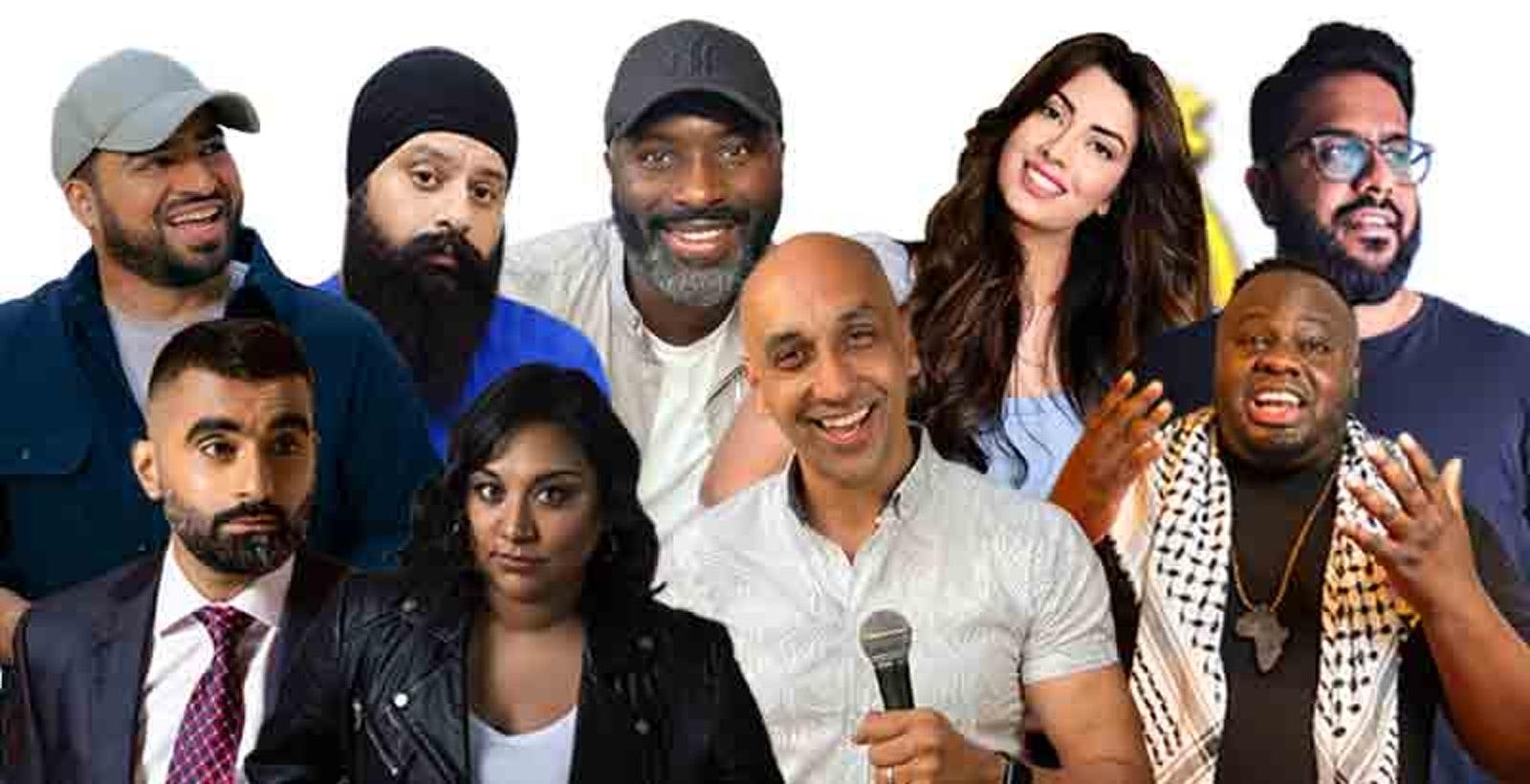 Desi Central Comedy Tour