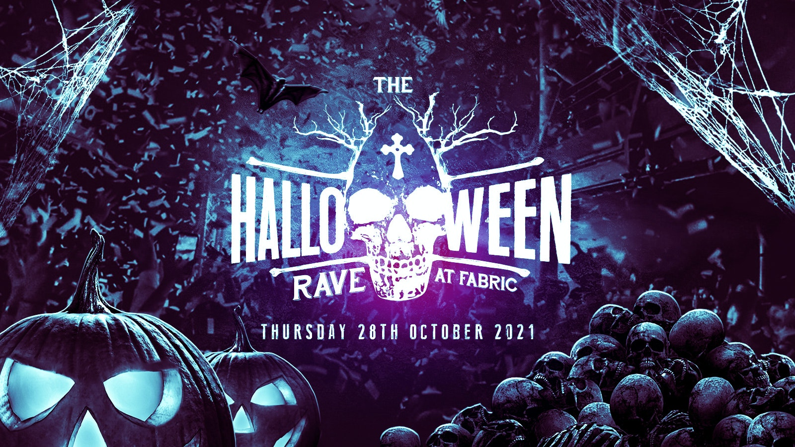⚠️FINAL 50 TICKETS⚠️ – The Halloween Rave at Fabric!
