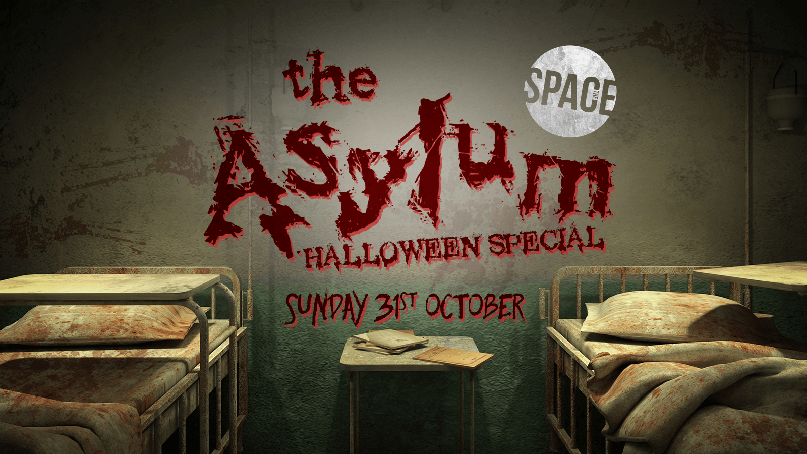 The Asylum Halloween Special at Space –  31st October