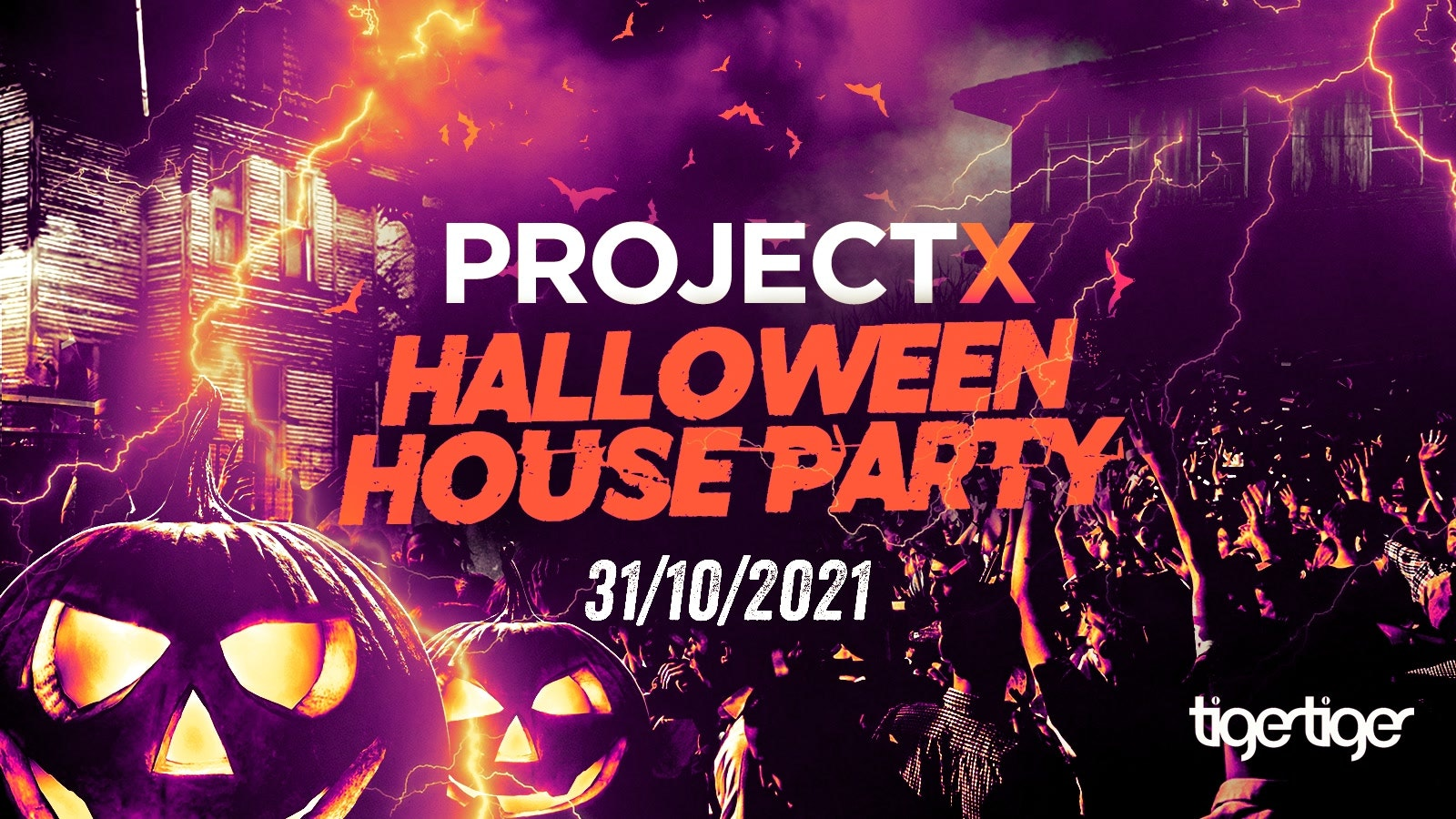 The 2021 Project X Halloween House Party // This event has SOLD OUT every year!