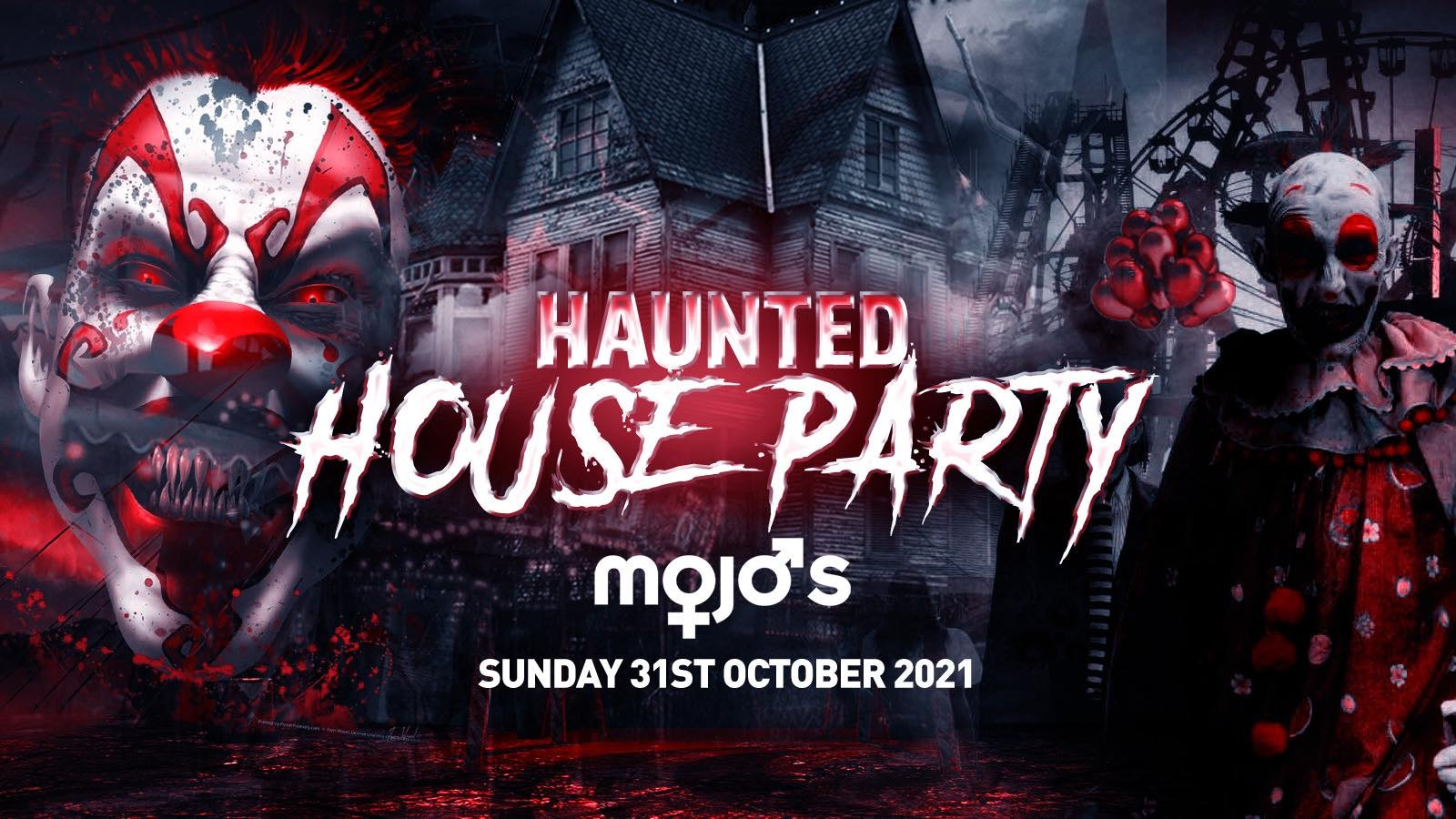 The Haunted House Party | Norwich Halloween 2021 – First 100 Tickets ONLY £3!