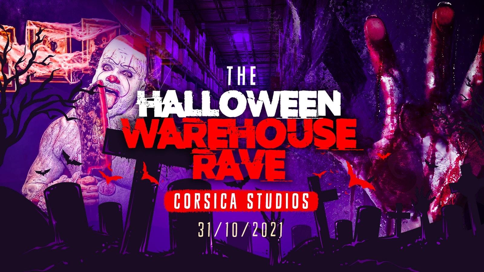 The Haunted Warehouse Rave @ Corsica Studios | London Halloween 2021