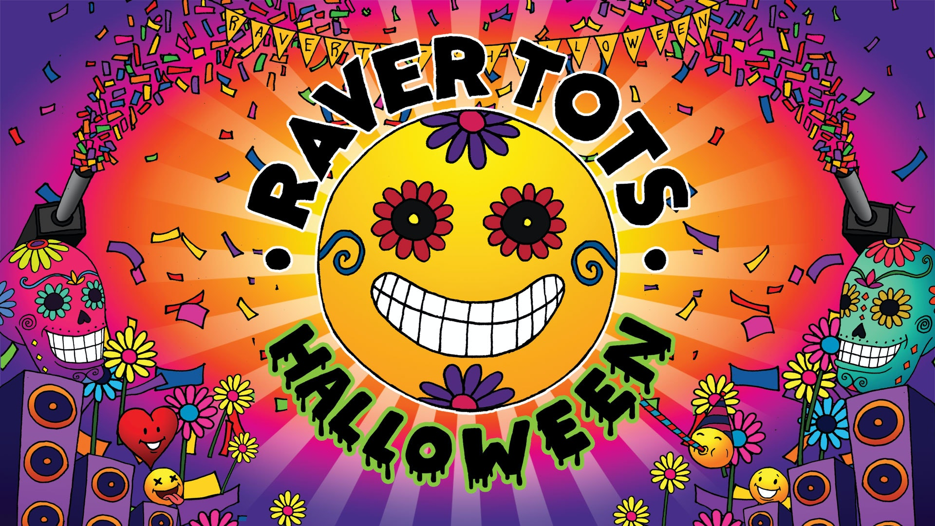 Raver Tots Halloween at HMV Empire Coventry with Artful Dodger & More