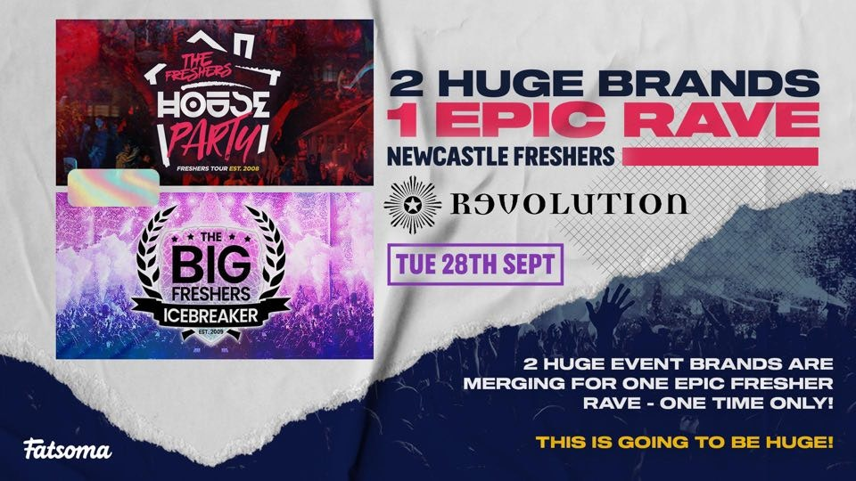 The Freshers House Party | Newcastle Freshers 2021 – First 100 Tickets £1!