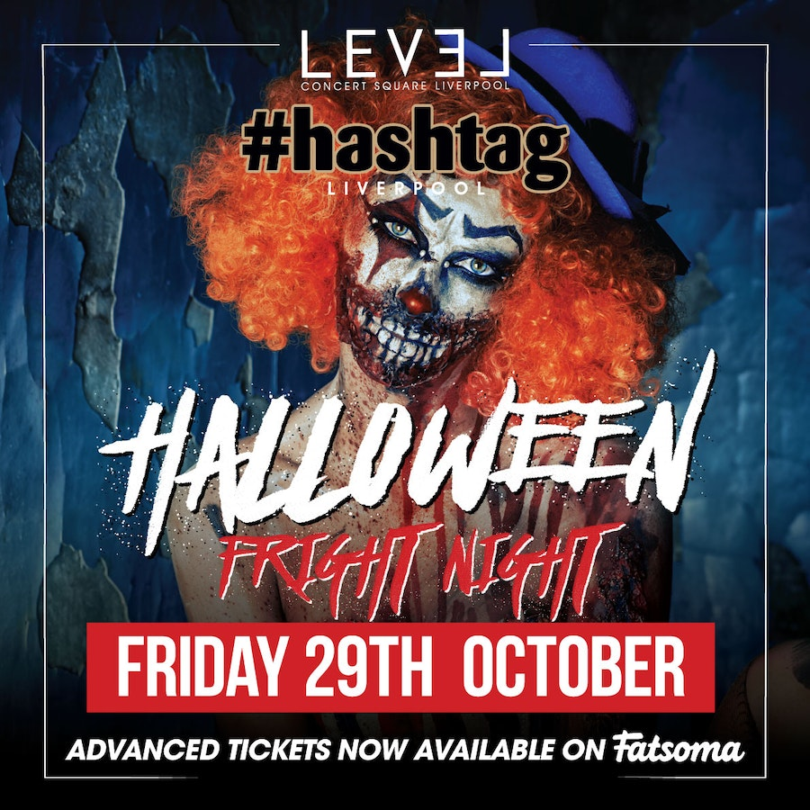Hashtag Liverpool Halloween Party