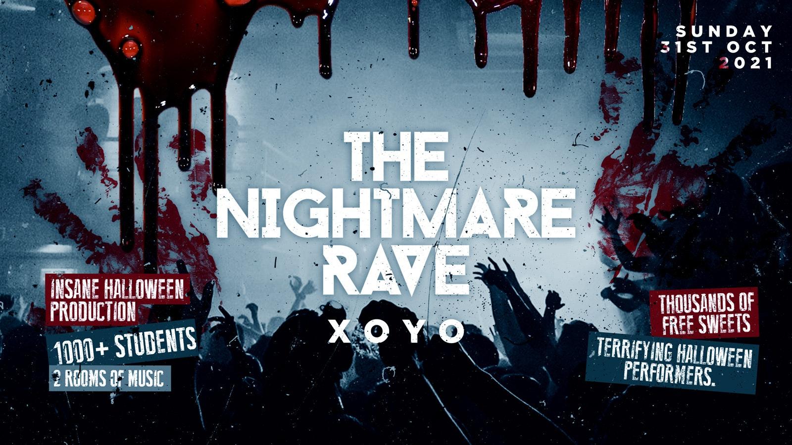 The Nightmare Rave @ XOYO | London Halloween 2021