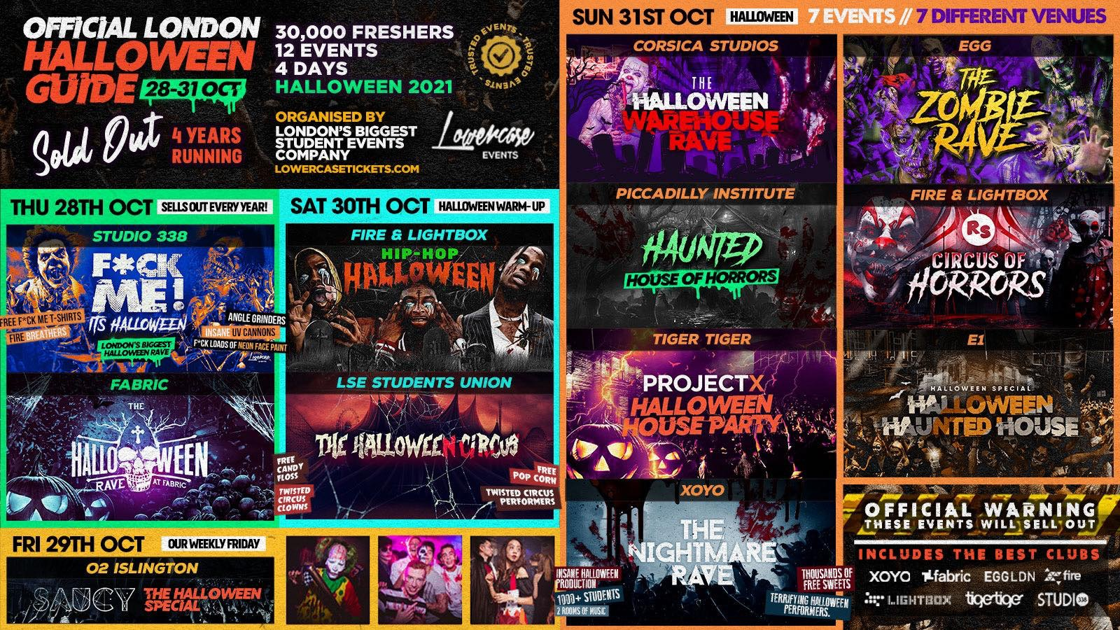 The 2021 Official London Halloween Guide | London Halloween 2021