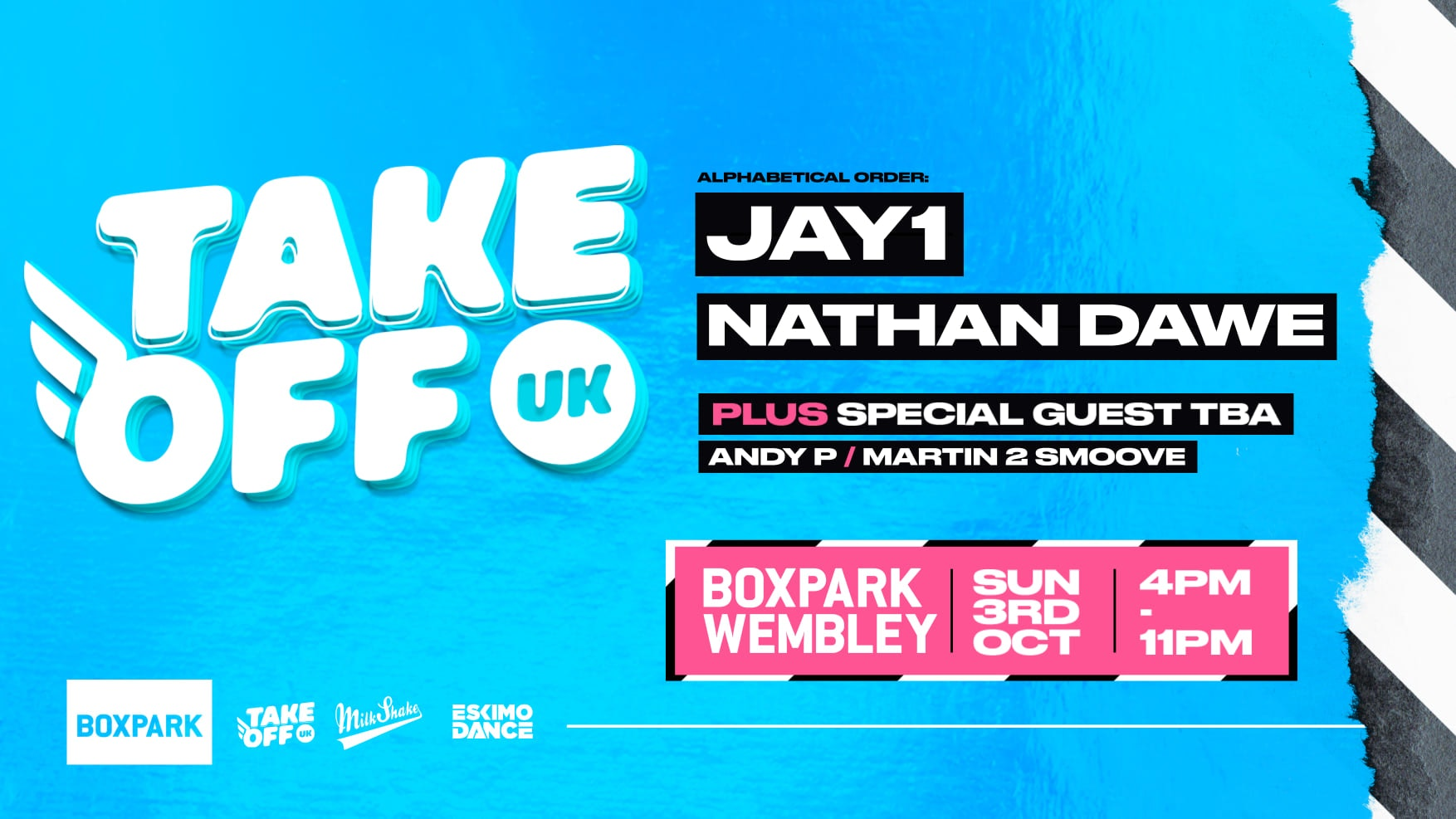 Take Off Freshers Festival – Ft JAY 1, NATHAN DAWE & MORE : TODAY!