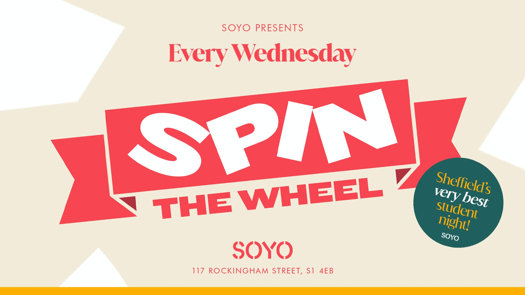 Spin The Wheel – FREE ENTRY
