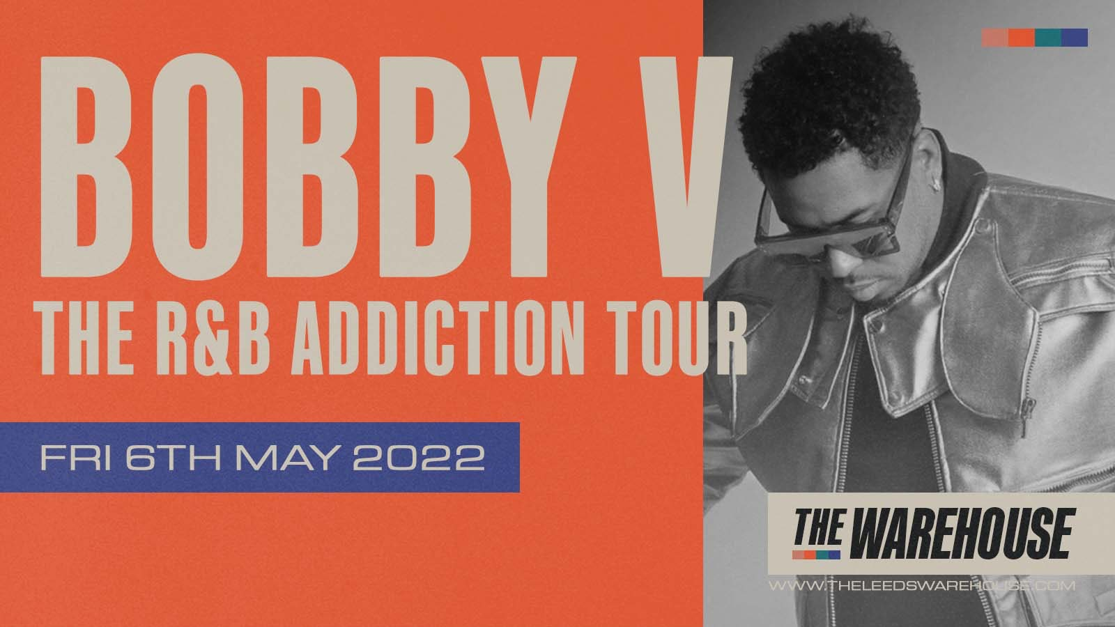 Bobby V w/ Support From Santos Silva – Live